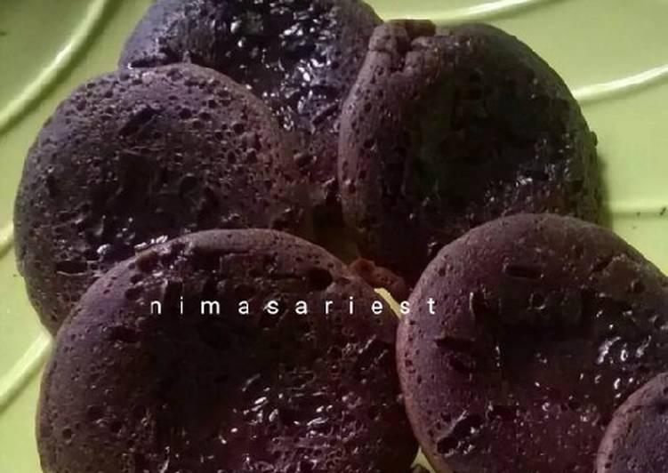 Resep: Kue Cubit Coklat ala resto