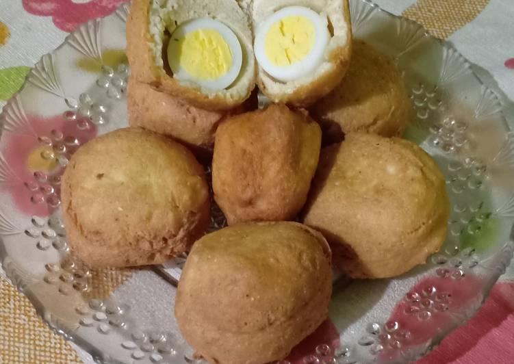 Resep membuat Tahu bulat isi telur istimewa