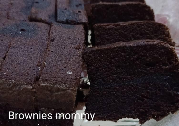 Resep: Brownies kukus nyoklat istimewa