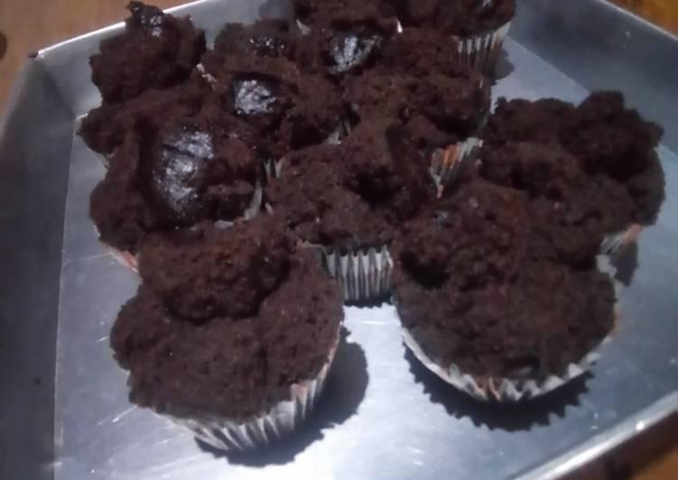 Cara Mudah mengolah Brownies kukus cup praktis