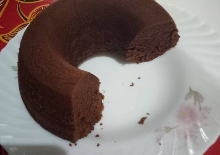 Cara mengolah Brownis chocolatos kukus