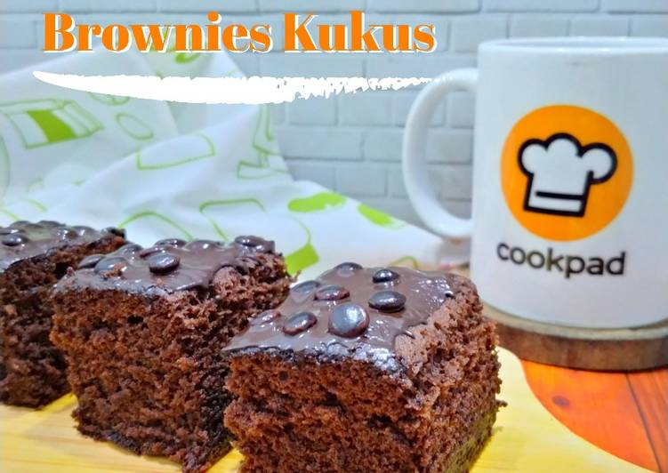Brownies kukus DCC