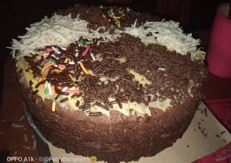 Resep memasak 18. Brownies kukus yang bikin ketagihan