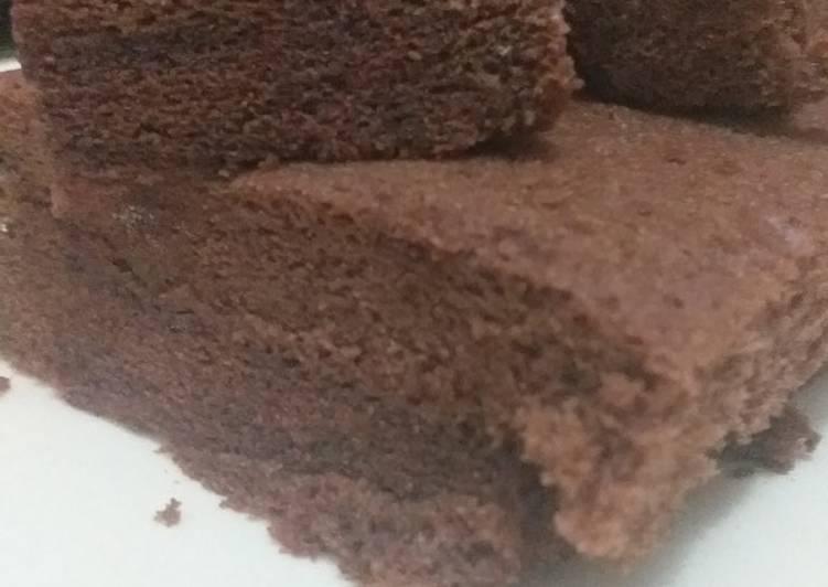 Cara Mudah mengolah Brownies kukus irit telor yang bikin ketagihan