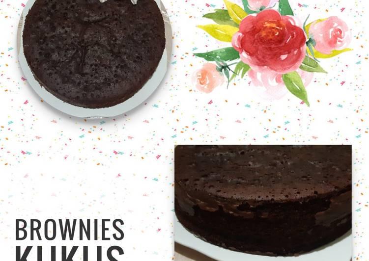 Resep mengolah Brownies Kukus yang menggugah selera