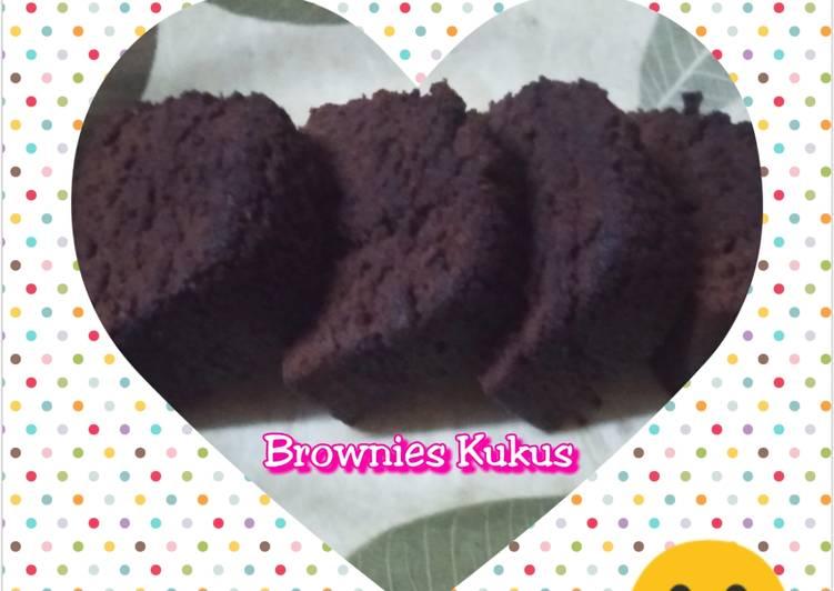 Resep memasak Brownies Kukus Simpel ala resto