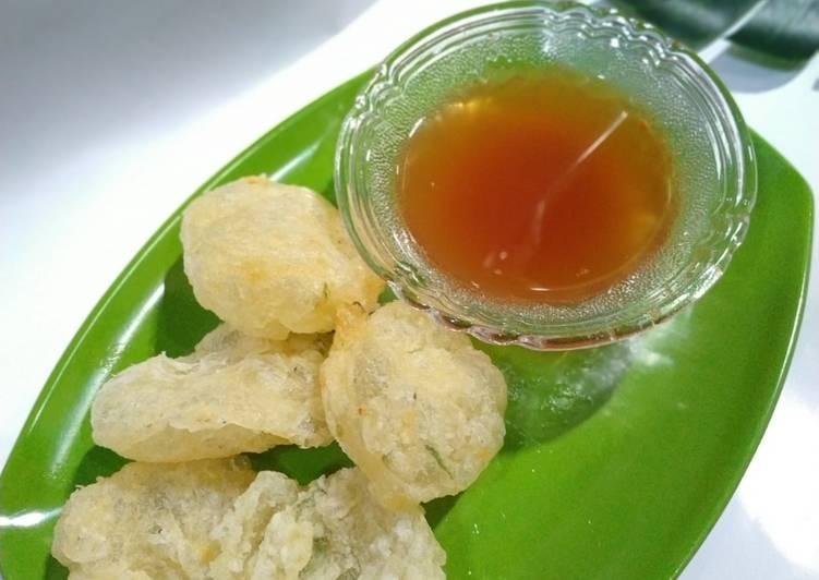 Cara mengolah Cireng Crispy Bumbu Rujak yang bikin ketagihan