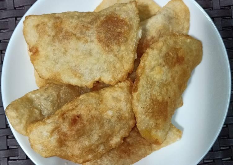 Cara Mudah memasak Cireng isi ayam pedas yang menggugah selera