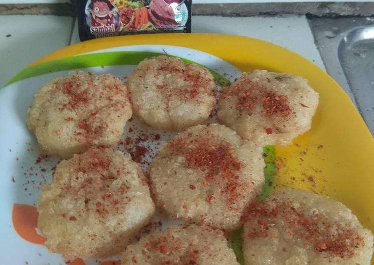 Cara Mudah membuat Cireng Nasi Pedas yang bikin ketagihan