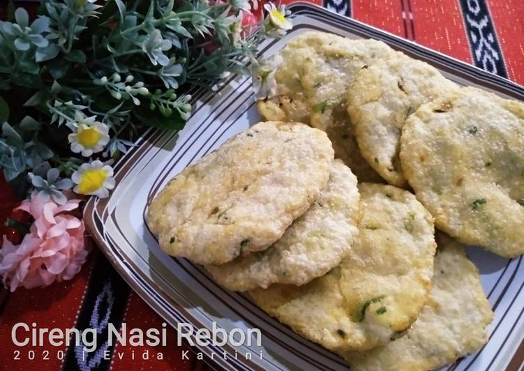 Cireng Nasi Rebon