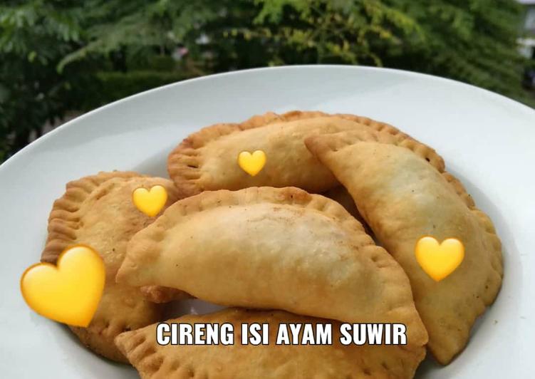 Resep: Cireng isi Ayam Suwir istimewa