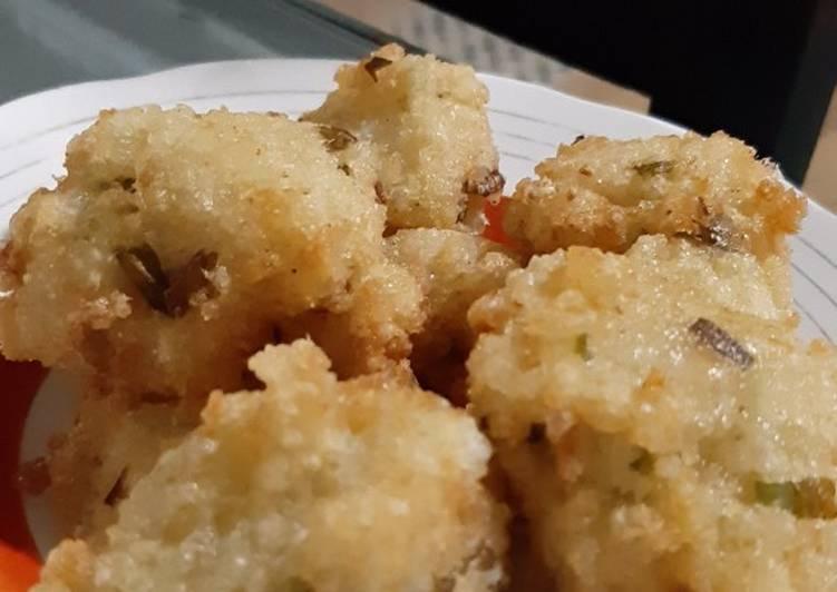Resep: Cireng nasi enak