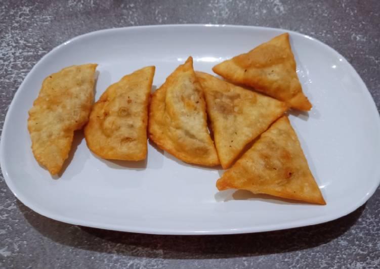 Resep: Cireng isi bakso dan sosis enak