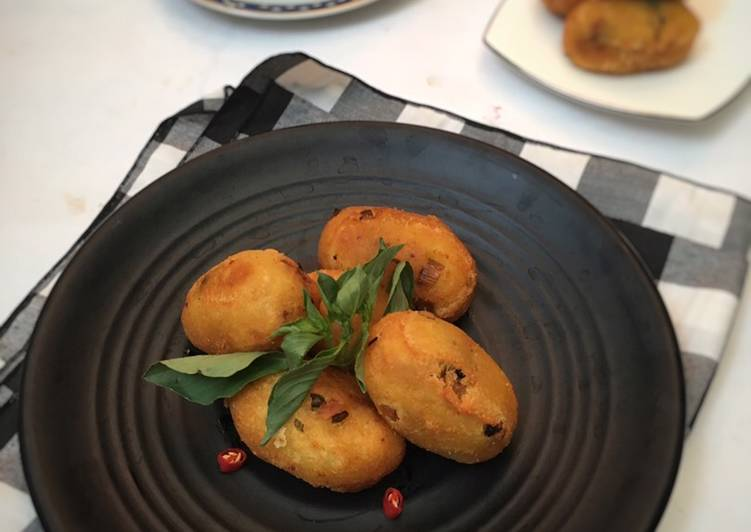 Resep: Combro Singkong Renyah (tanpa peras) yang bikin ketagihan