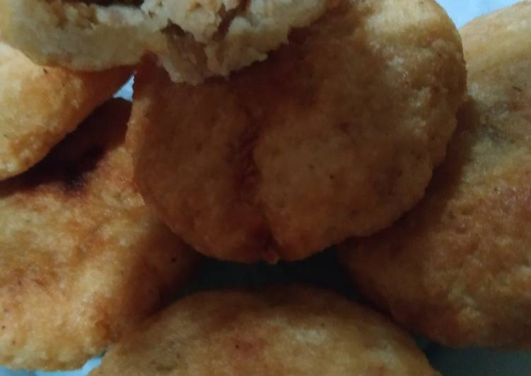 Cara Mudah memasak Combro Isi Tempe dan Keju yang menggugah selera