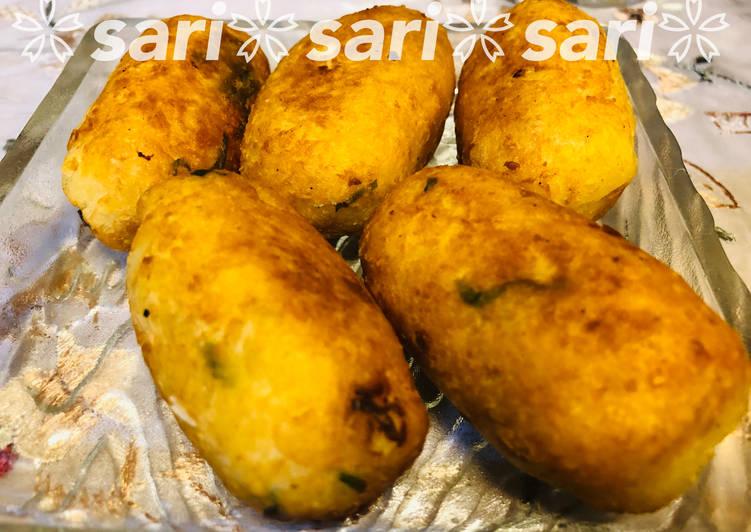 Resep: Kroket kentang ala combro ala resto