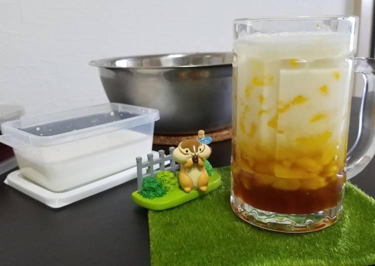 Cara Mudah membuat Es cendol aroma durian sedap