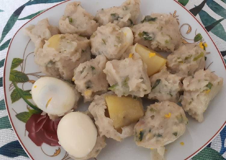 Resep memasak Siomay bandung yang bikin ketagihan