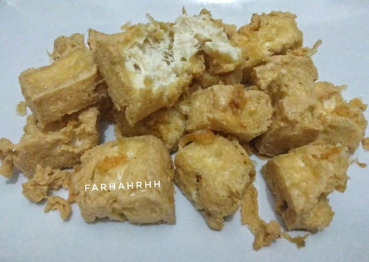 185. Tahu Susu Bandung (Homemade)