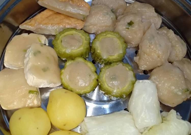 Resep: Siomay Bandung & batagor komplit lezat