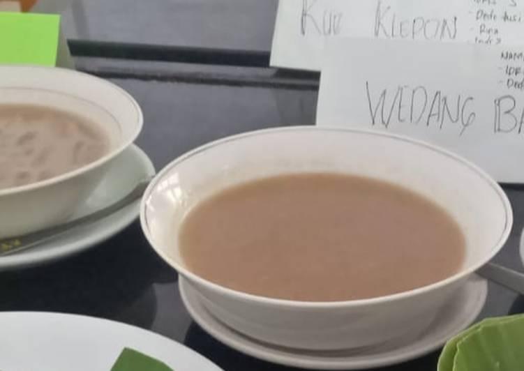Resep memasak Wedang bajigur lezat