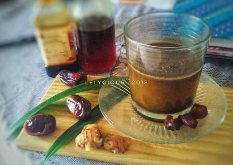 Bajigur plus Kurma (Spesial Ramadhan) #KamisManis