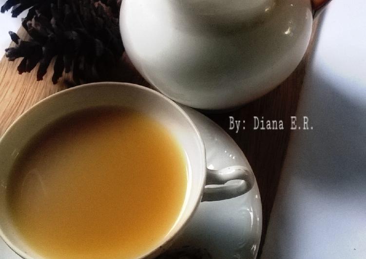 Resep memasak Bajigur #pr_recookmintradisional yang menggugah selera