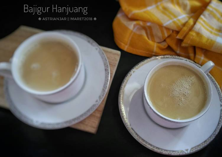 Bajigur Hanjuang (#Pr_Recookmintradisional)