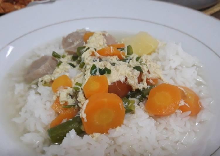 Resep: Sup bakso dan telur kocok yang menggugah selera