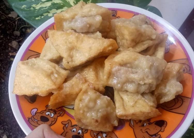 Resep: #12 Tahu bakso ayam lezat