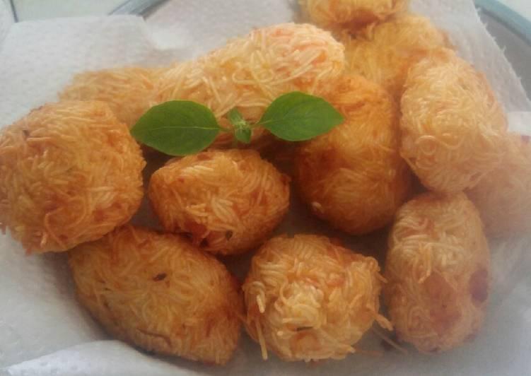Resep: Bakso Misua udang goreng enak