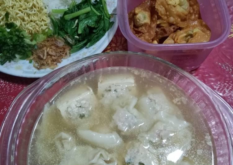 Resep: Sup Tahu Bakso &Pangsit istimewa