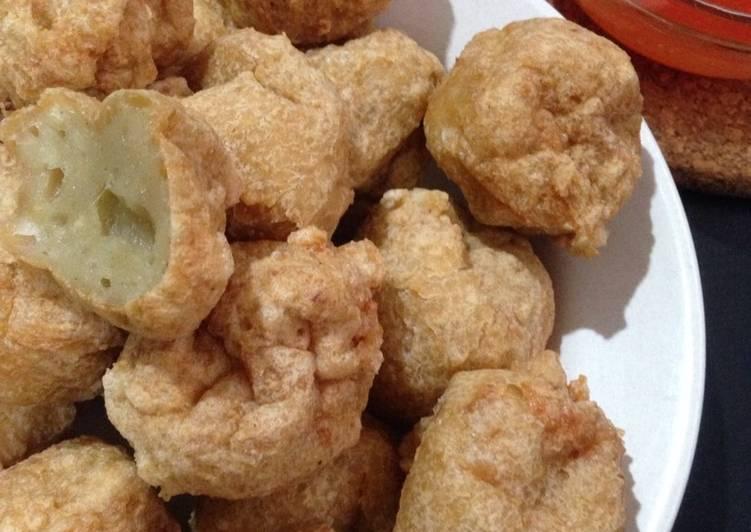 Cara Mudah mengolah Bakso goreng ayam+udang resep @xanderskitchen tapi ulen tangan manual :) yang menggugah selera