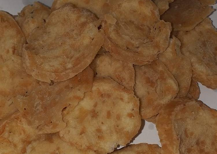 Resep: Basreng / bakso goreng kriuk renyah / kripik bakso sedap