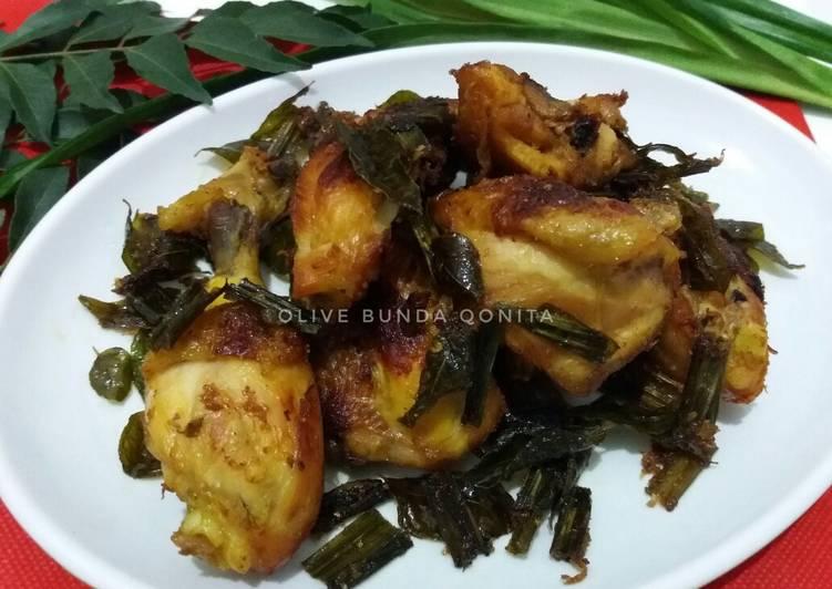 Cara memasak Ayam tangkap khas Aceh lezat