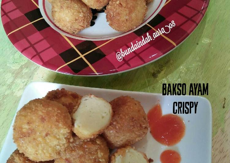 Bakso Ayam Crispy