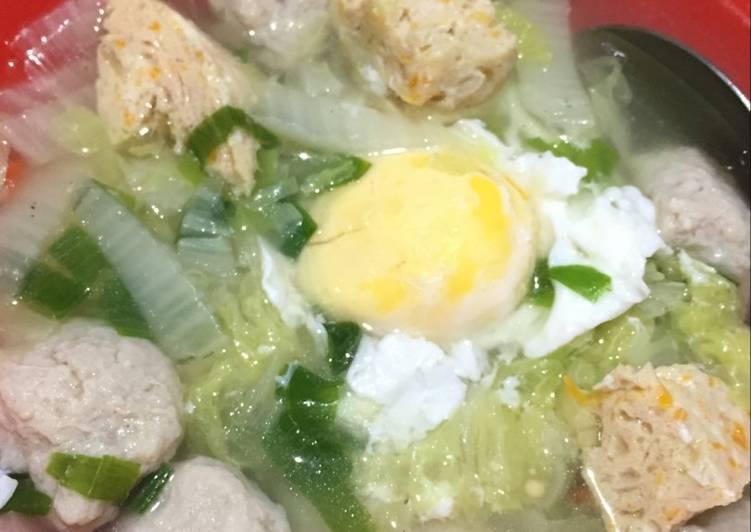 Resep: Bakso Ayam Tanpa Tepung ala resto