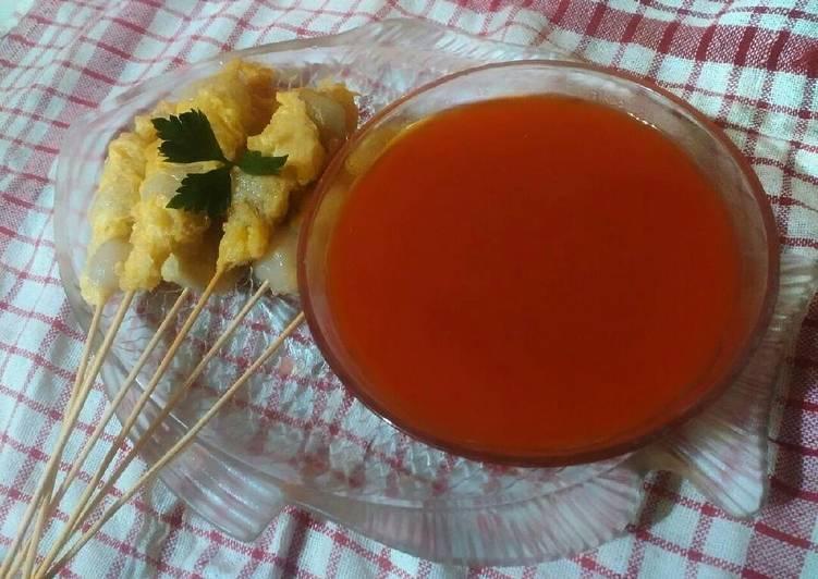 Resep: Bakso gulung telor 🍡 lezat
