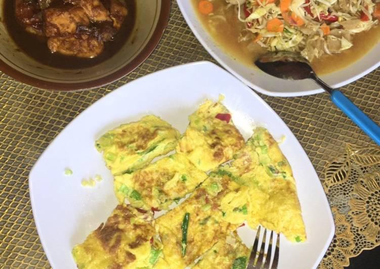 Resep: Masak ayam kecap,telur dadar, tumis toge baso 😍 Buat misuaa😊 yang bikin ketagihan