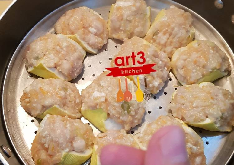 Baso Tahu Ayam kukus /goreng