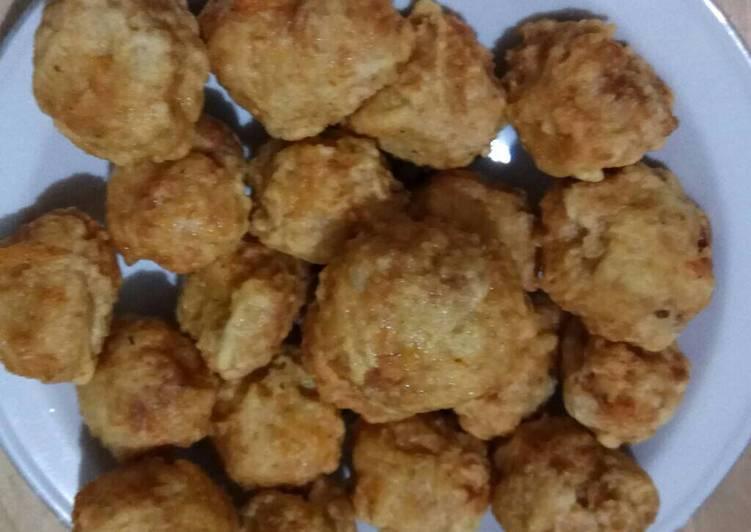 Resep: Baso goreng ayam udang enak