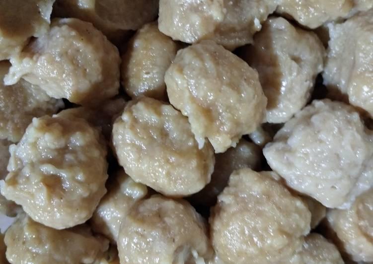 Resep memasak Pentol ayam homemade yang bikin ketagihan