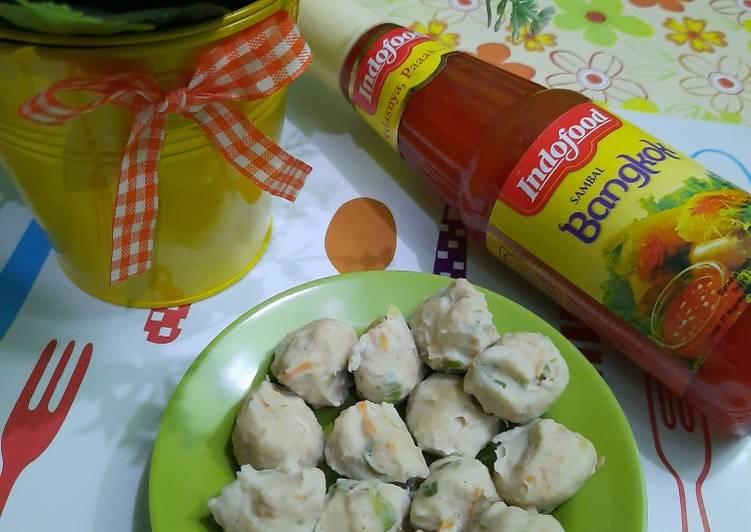 Cara membuat Pentol Ayam Homemade yang bikin ketagihan