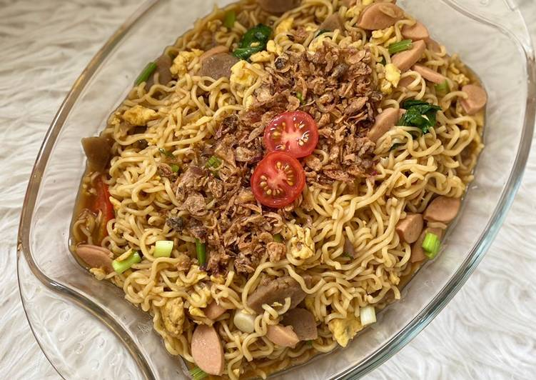 Indomie Goreng Nyemek Sosis Bakso