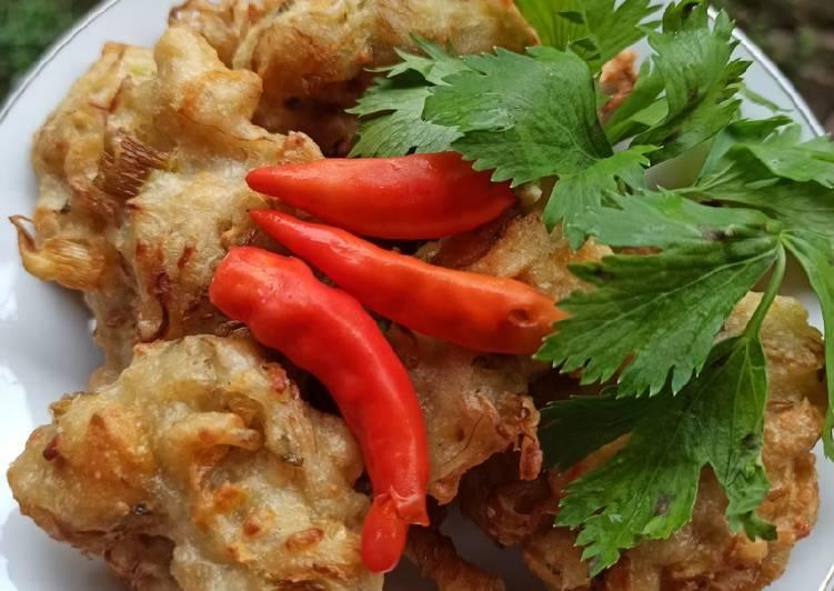Resep: Bala bala/bakwan sayur istimewa