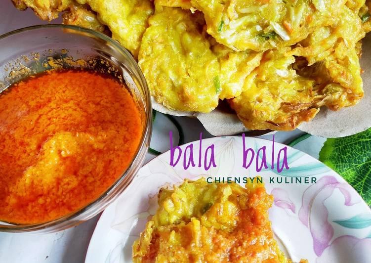 Cara Mudah memasak Bala bala ala chiensyn kuliner yang menggugah selera