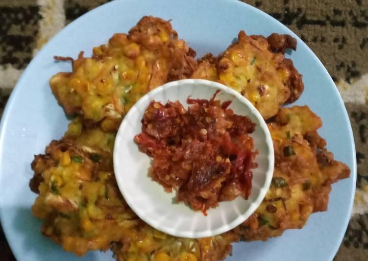 Cara Mudah memasak 25. Bakwan Sayur / Bala-bala Sayur Simple
