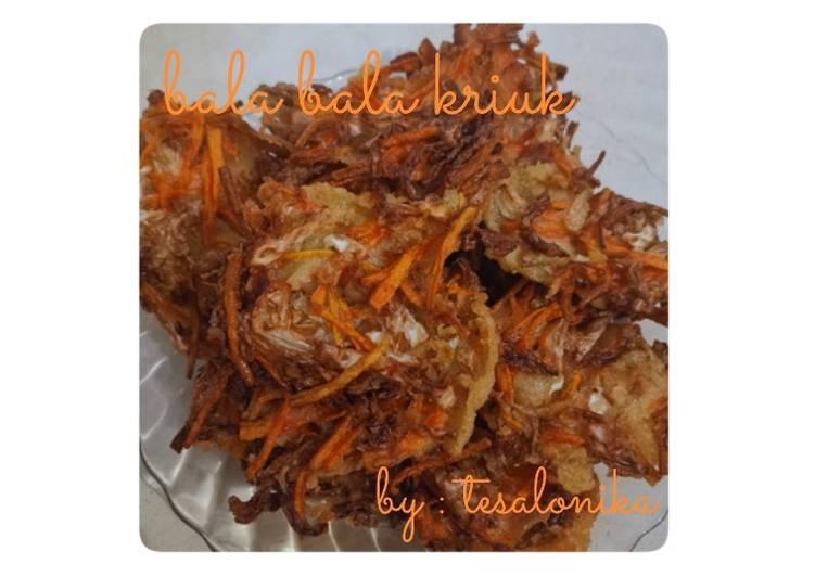 Resep: Bala Bala Kriuk ala resto
