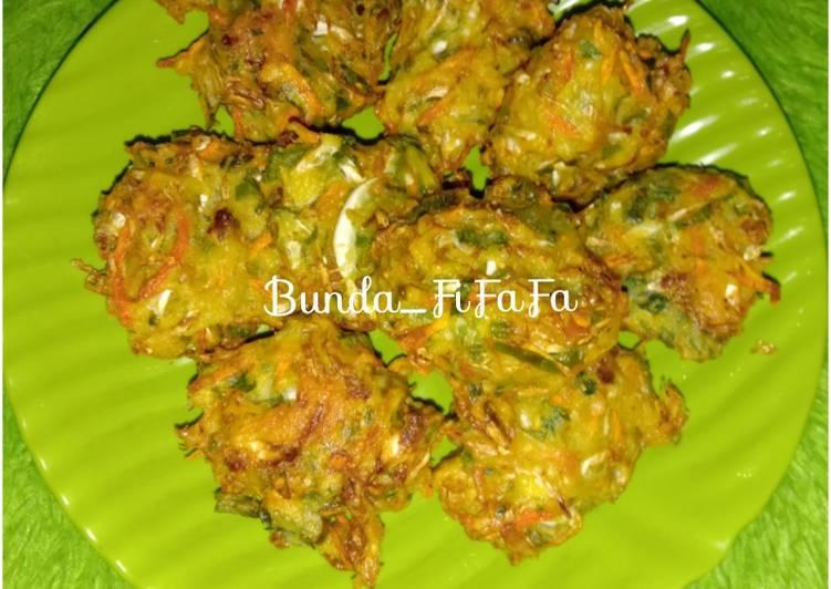 Resep: Bala-bala / Bakwan Sayur lezat