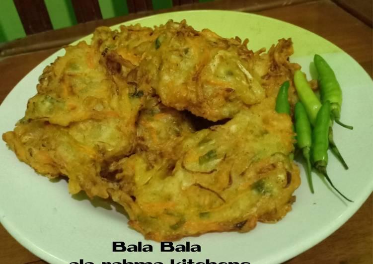 Bala Bala Sayur Kriuk & Renyah / Bakwan Sayur